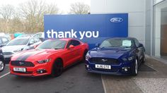 Ford Mustangs 16 Plate - Sandicliffe FordStore Leicester