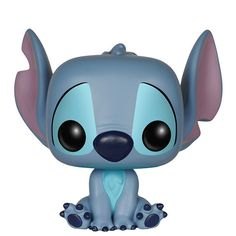 Funko Pop Disney: Lilo & Stitch - Stitch Seated Action Figure: Look how cute this genetically altered creature is! The Disney Lilo & Stitch Seated Stitch Pop! Vinyl Figure features the little blue alien having a seat. Figure measures about 3 tall. Disney Stitch, Lilo Stitch, Figurine Pop Disney, Pop Figurine, Figurines Funko Pop, Funko Figures, Disney Pop, Disney Pixar, Pop Vinyl Figures
