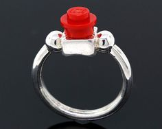 Building Block Ring  Sterling Silver  by CraigDabler on Etsy