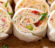 Chicken Taco Mexican Pinwheels | Food Recipes