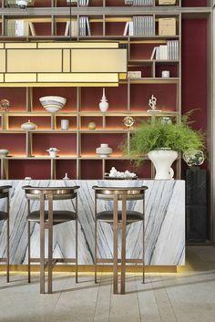 Retail Interior, Kitchen Interior, Restaurant Design, Restaurant Bar, Dining Room Table, Dining Area, Family Bar, Game Room Bar, Lobby Bar