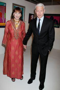 Anderson Cooper with his Mom, Gloria Vanderbilt
