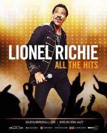 Lionel Richie torna in Italia questa estate per tre grandi appuntamenti: al Lucca Summer Festival, alle Terme di Caracalla a roma, e all'Anfiteatro Camerini di Piazzola sul Brenta.  I live di Lionel Richie sono coinvolgenti ed emozionanti, sembra di essere una grande festa e il pubblico spes