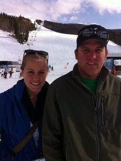 Steven and Lauren. Bozeman April 2012