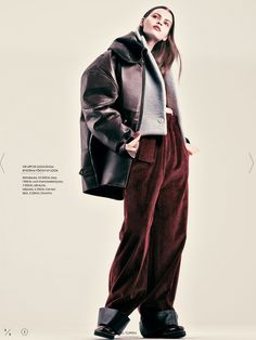 visual optimism; fashion editorials, shows, campaigns & more!: erika labanauskaite by andreas sjodin for elle sweden september 2013