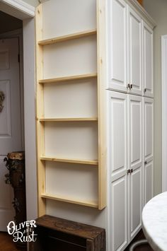 Oliver and Rust: Plate Rack Kitchen DIY