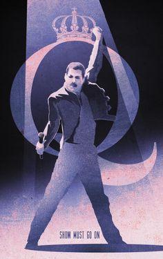 Freddie lives! #queen #freddie #show #music #rock