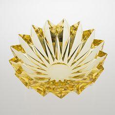 "AIMO OKKOLIN - A crystal glass vase ""Lumpeenkukka"" (Water lily) designed 1960 for Riihimäen Lasi Oy, Finland. Catalog Design, Crystal Vase, Nordic Design, Bukowski, Wine And Spirits, Water Lilies, Glass Design, Asian Art, Scandinavian"