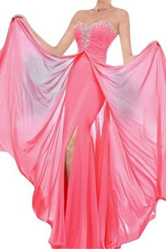 Vienna Bride Charming Sweetheart Long Evening Prom Dress for Pageant Wedding20WWatermelon *** For more information, visit image link.