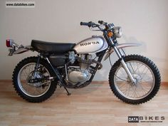 My 5th bike Honda XL 250