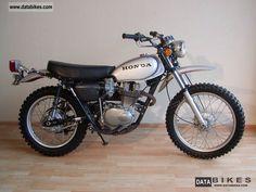 My 5th bike Honda XL 250