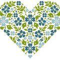 Versatile flower pattern (link below image, can alter colors for different looks)