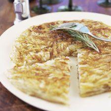 Patate fromage et épinard.