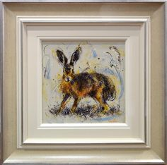 Hare by Ruby Keller. Available from Artworx Gallery, Shropshire, UK. www.artworx.co.uk