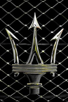 Maserati cars are my favorite! This is the Maserati Trident...looks somewhat like the ASU trident.