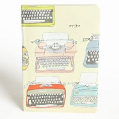 these little typewriters would be a great background for a words to live by art journal page