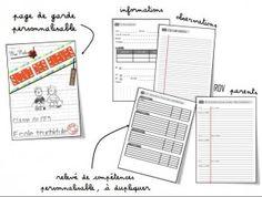 Cahier de suivi des élèves + autres superbes docs chez classeurdecole.fr