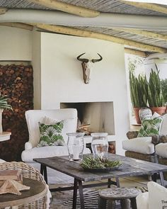 My best friend house has just been published in Conde Nast… Outdoor Rooms, Outdoor Living, Outdoor Gardens, Salisbury House, Built In Braai, Outside Room, Exterior, The Ranch, Beautiful Space