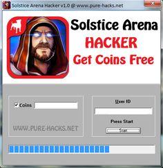 Solstice Arena Hack Coin Press, Website, Places, Lugares