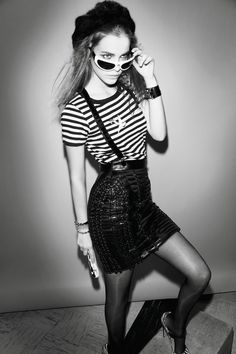 Barbara Palvin – Vogue April 2011