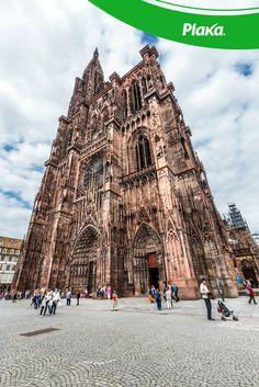 La #CatedralDeEstrasburgo, sin duda es una digna representante de la #Arquitectura #Gótica.