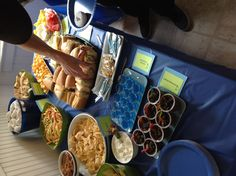 Golf theme party food..