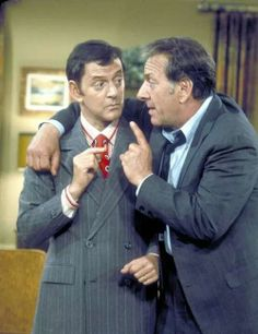 "Tony Randall & Jack Klugman, ""The Odd Couple"" (1970-1975)."