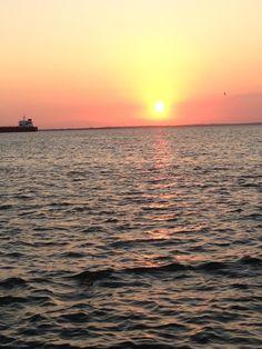 Sunrise. Lago de Maracaibo.
