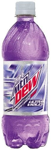Diet Ultra Violet - Mountain Dew Wiki