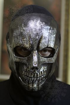 Raw Metal Skull by SatanaelArt on Etsy, $80.00