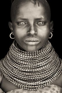 turkana boy from loyangalani / kenya Little Lady from Turkana area, Northern Kenya by Mario Gerth We Are The World, People Around The World, Beautiful Eyes, Beautiful People, Afro, African Tribes, African Art, Portraits, African Culture