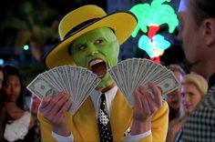 Jim Carrey in The Mask movie