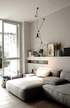 Private Flat : Soggiorno moderno di Moodern