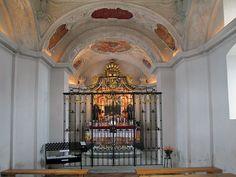 Einsiedeln (Switzerland) - St Meinrad Chapel (Etzel)