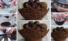 Faça você mesmo meu amor | Recipientes de chocolate para usar no seu casamento | Casando sem Grana | Clique na imagem e acesse.