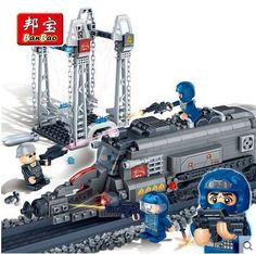 26.46$  Know more - http://ai4e5.worlditems.win/all/product.php?id=32397093189 - Banbao 6208 Super Police energy center 385 pcs Plastic Building Block Sets Educational DIY Bricks Toys for children