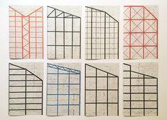 Philippe Weisbecker : Structure Series – Les presses du réel (livre)