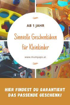 Sinnvolle Geschenkideen für #Kleinkinder ab 1 Jahr. Hier findest du garantiert das passende #Geschenk! Chart, Toddlers, Parents, Gifts