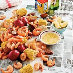 Low Country Boil - Frogmore Stew   Boiled food, Shrimp ...