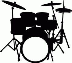 Silhouette Design Store - View Design #53246: drum