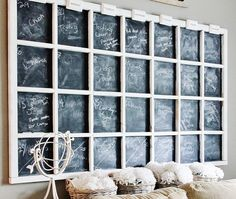 What To Do With a Big Blank Wall ~ from Thistlewood Farms