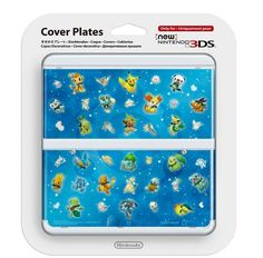 NEW Nintendo 3DS Kisekae Cover plates No.063 Pocket Monster Pokemon F/S Japan #Nintendo
