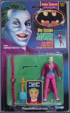 Kenner Batman - The Dark Knight Collection Series 1 Joker (Sky Escape) Figure 1990