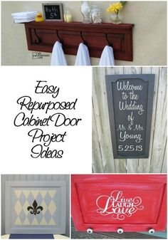 Cabinet doors are the perfect item to repurpose. There always seems to be a surplus of them at local flea markets. Most projects using cabinet doors are easy even for beginners! Read along as eBay inspires you to create everything from chalkboards to coat racks, all from old cabinet doors.