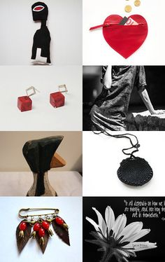 Valentine's Day by Ilona on Etsy--Pinned with TreasuryPin.com