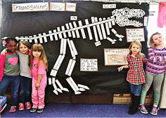 Inquiring Minds: Mrs. Myers' Kindergarten: The Dinosaur Museum Project: Kids Are Capable of Doing Amazing Things