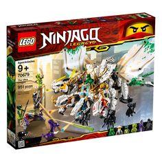 Lego Ninjago Legacy 70679 Ultra Dragon Battle With Ninja Warriors Vs Garmadon Ninjago Lego Sets, Lego Ninjago Ninja, Lego Ninjago Minifigures, Lego Duplo, Ninjago Dragon, Lego Dragon, Legos, Lego Dimensions, Guerrero Ninja