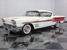 Pontiac : Bonneville BEAUTIFULLY RESTORED 58 BONNEVILLE, TRI POWER 370CI, EXCELLENT PAINT