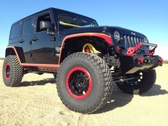 Project Ridiculous for Feed The Wheels by Rebel Off Road - Detailed shot of the Nemesis Industries fender flares.