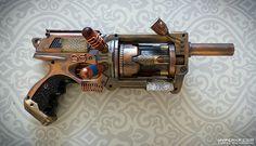 Steampunk Gun : 4 : Nerf Maverick : TinkSPG